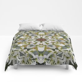 Lacy Serviceberry kaleidoscope - Amelanchier 0033 k5 Comforters