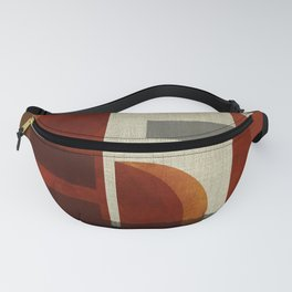 """Abstract Ships at Sunset"" Fanny Pack"
