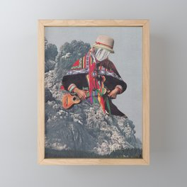 Seismic Wave Framed Mini Art Print
