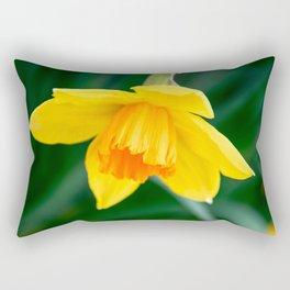 Daffodil in spring Rectangular Pillow
