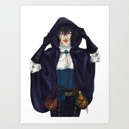 The Magpie Art Print