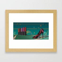 Design Garden Framed Art Print