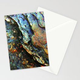 Metallic Layers Stationery Cards