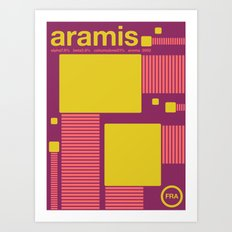aramis single hop Art Print