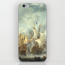 Battle of Scheveningen iPhone Skin
