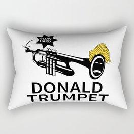 Donald Trump Trumpet Rectangular Pillow