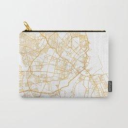COPENHAGEN DENMARK CITY STREET MAP ART Carry-All Pouch