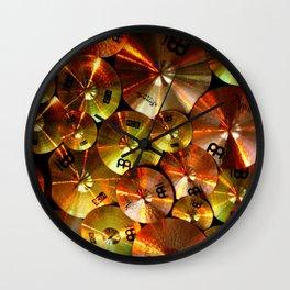Cymbals fine art photography Wall Clock