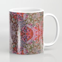 St Augustine Tree Bark Mandala Coffee Mug