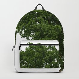 Green Tree Drawing Picture Backpack