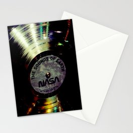 Sounds of the Earth Golden Record Stationery Cards
