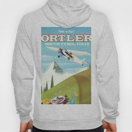Ortler South Tyrol, Italy travel poster Hoody