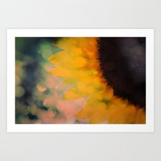 Sunflower I (mini series) Art Print
