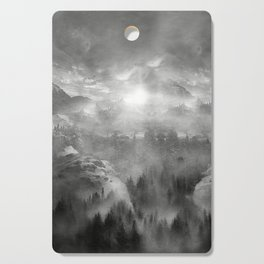 B&W - Wish You Were Here (Chapter I) Cutting Board