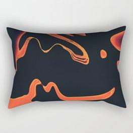 Liquid Fire Rectangular Pillow