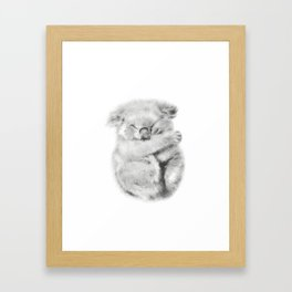 koala bear Framed Art Print