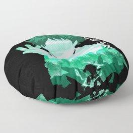 Minimalist Silhouette Deku Floor Pillow