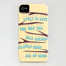 Asleep Slim Case iPhone (4, 4s)