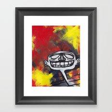 Grimace Framed Art Print