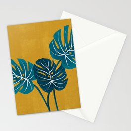 Monstera Stationery Cards
