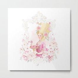 Marie Antoinette Paris in Spring Metal Print