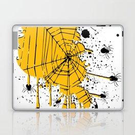 Spiderweb spiders ink splash Laptop & iPad Skin