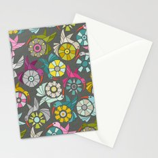 paper sunbirds graphite Stationery Cards