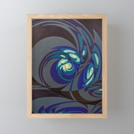 "West (""Elementals"" series) Framed Mini Art Print"