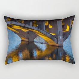 Evening at Townlake Rectangular Pillow