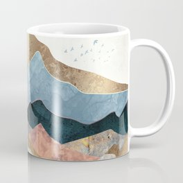 Golden Peaks Coffee Mug
