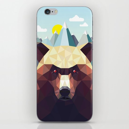 Bear Mountain  iPhone & iPod Skin