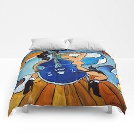 Sonata in Blue Comforters