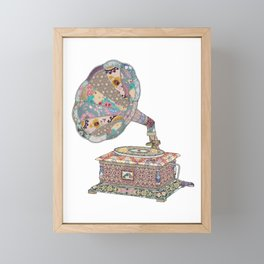 SEEING SOUND Framed Mini Art Print