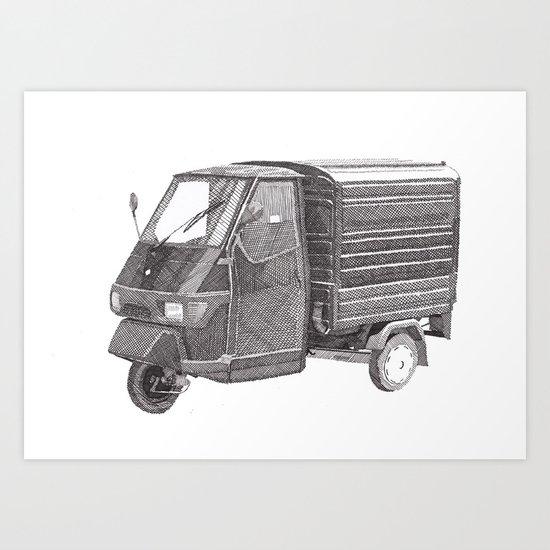 Piaggio Art Print