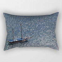 Santorini, Greece 11 Rectangular Pillow