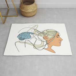 Brain Seperation Rug