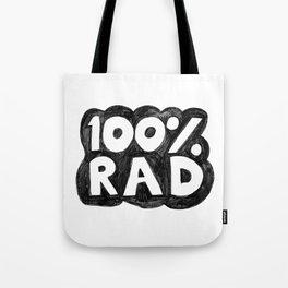 100 % RAD - Bubble Tote Bag