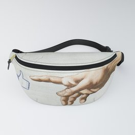 The creation. It's only Adam (But I Like It) Fanny Pack