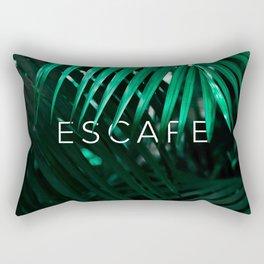 Escape into the Jungle Rectangular Pillow