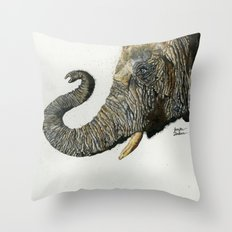 Elephant Cyril Throw Pillow