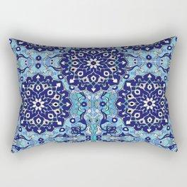 blue sky tile Rectangular Pillow