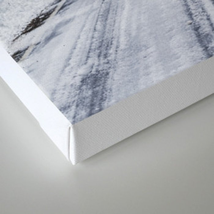 Snowy Oregon Forest Roads Canvas Print