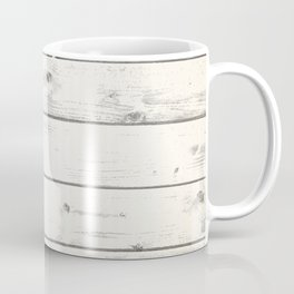 Light Natural Wood Texture Coffee Mug