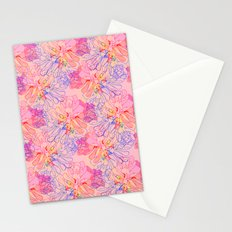 psychedelic succulent Stationery Cards
