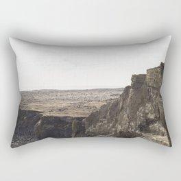 Planet West Iceland Rectangular Pillow