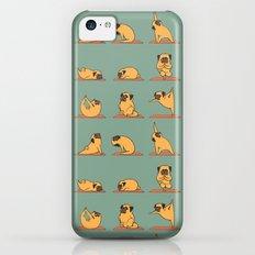 Pug Yoga Slim Case iPhone 5c