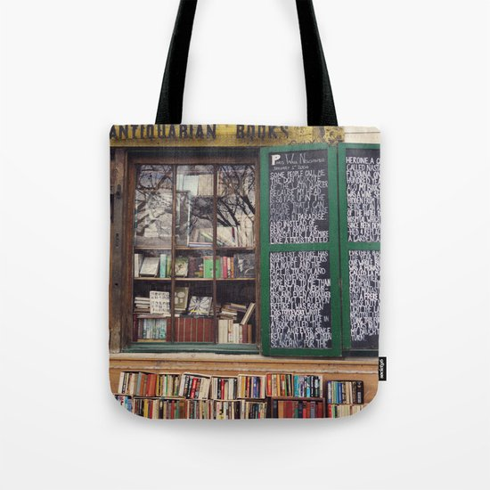 Shakespeare in Paris #2 Tote Bag