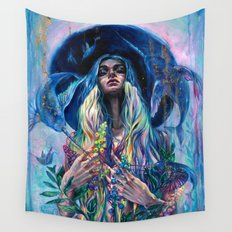 The Rustle of Narwhal's Wings Wall Tapestry