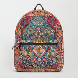 N131 - Heritage Oriental Vintage Traditional Moroccan Style Design Backpack