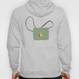 Her Daily hand bag, bag illustration, fashion illustration, girly art print Hoody